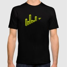 The LATERAL THINKING Project - Movimiento SMALL Black Mens Fitted Tee