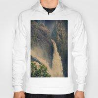 Barron Falls in retro style Hoody