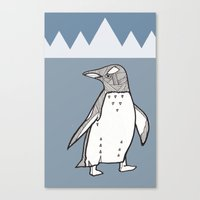 Lil Penguin Canvas Print
