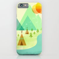 iPhone & iPod Case featuring Native Lands by Jenny Tiffany