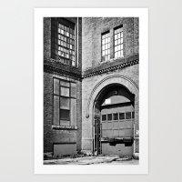 Mono Brick VI Art Print