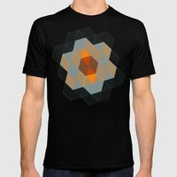 Tiling I Mens Fitted Tee Black SMALL