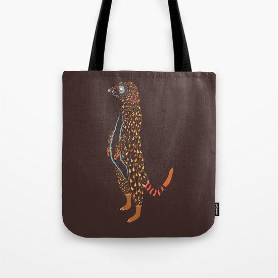 Abstract Meerkat Tote Bag