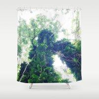 lush Shower Curtain