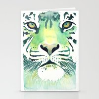 Green Tiger Stationery Cards