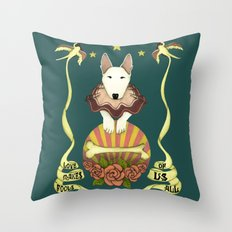 Love Makes Fools Of Us- … Throw Pillow