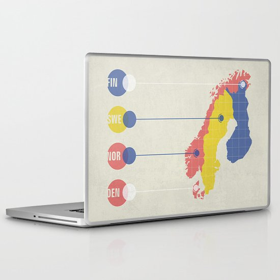 The Scando Laptop & iPad Skin