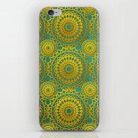 Golden Mandala 2 iPhone & iPod Skin