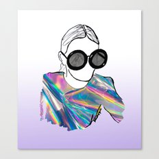 Holographic Canvas Print