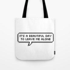 please go Tote Bag