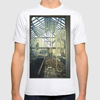 Glass House Mens Fitted Tee Ash Grey SMALL