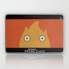 Howl Castle Poster Laptop & iPad Skin