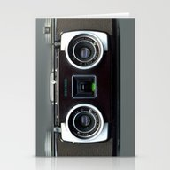 Stationery Cards featuring  Camera  by Bright Enough💡