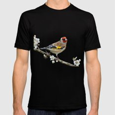The Goldfinch Mens Fitted Tee Black SMALL