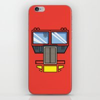 Transformers - Optimus P… iPhone & iPod Skin