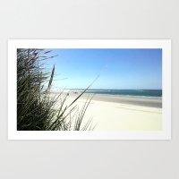 Beach I. Art Print