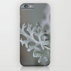 Silver Brocade iPhone 6 Slim Case
