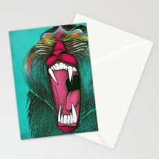 The Ultimate Baboon Stationery Cards