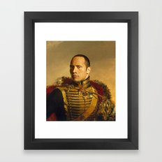 Dwayne (The Rock) Johnso… Framed Art Print