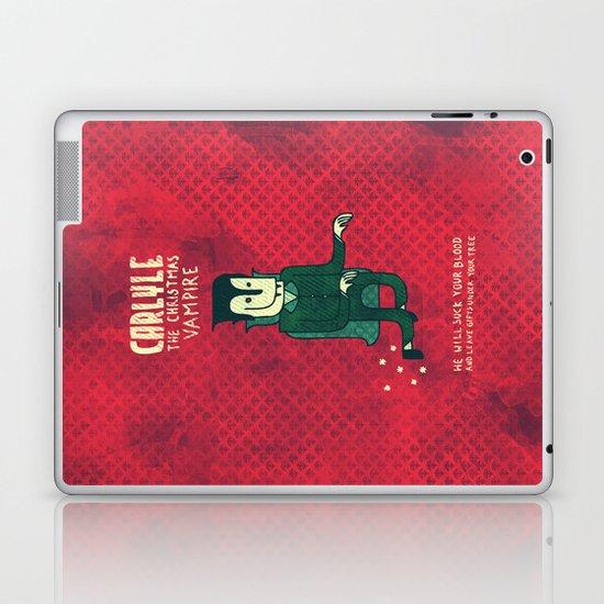 The Christmas Vampire Laptop & iPad Skin