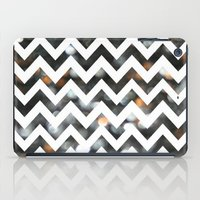 Chevron Glitter iPad Case