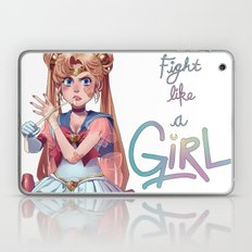 Fight Like A Girl Laptop & iPad Skin