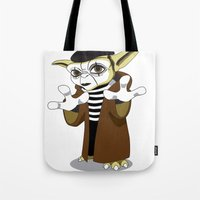 Jedi Mime Tricks Tote Bag