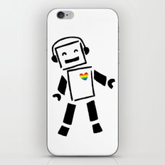 The Pride Boogie Bot iPhone & iPod Skin