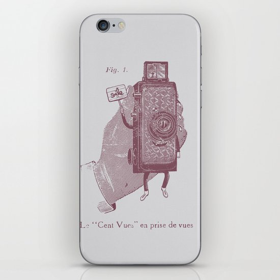 Cent Vues iPhone & iPod Skin