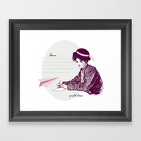 Lady Jane Framed Art Print