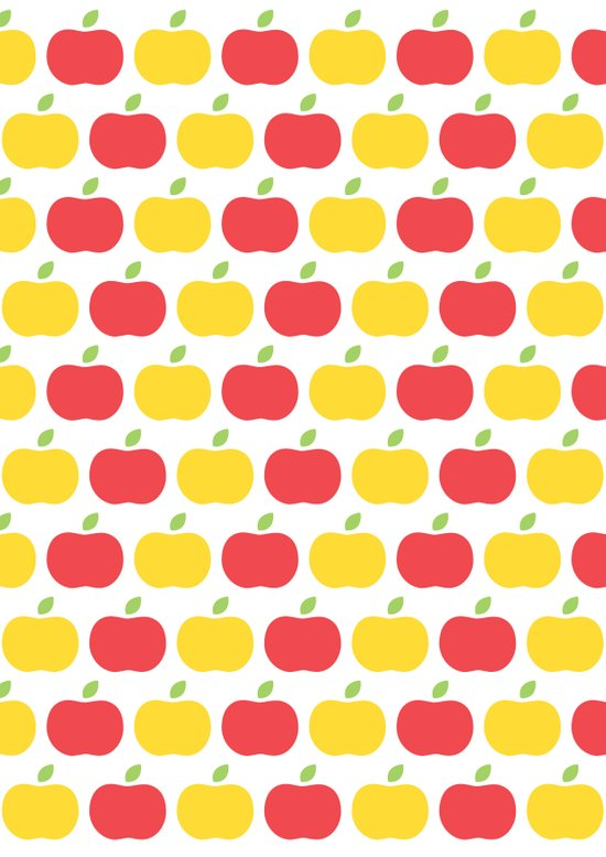 The Essential Patterns of Childhood - Apple Art Print