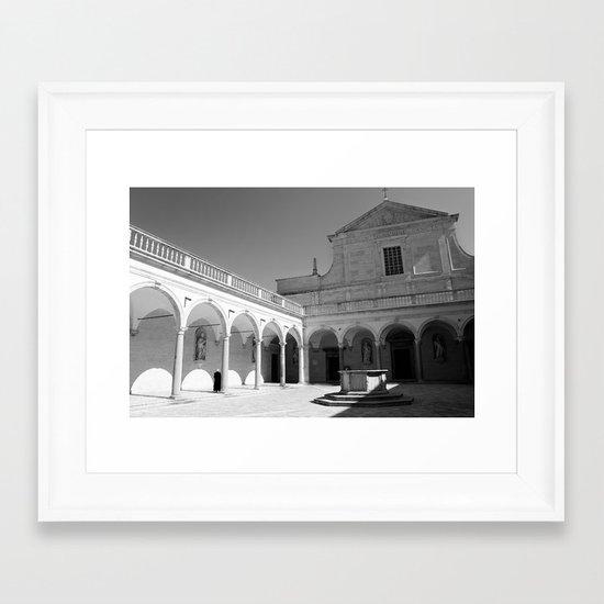 The Abbey I Framed Art Print