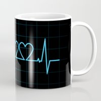 Two Heartbeats Mug
