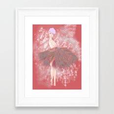 Who's That Ga-Girl! Framed Art Print