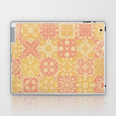 Pink and Yellow Grandmother's Quilt Laptop & iPad Skin
