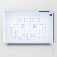 A SPACE PLAN iPad Case