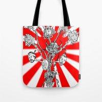 seppuku monster Tote Bag