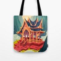 Air Temple Tote Bag