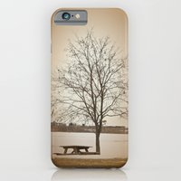iPhone & iPod Case featuring Winter Silence by Karol Livote