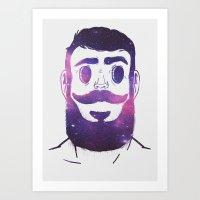 Stargazer | VACANCY Art Print