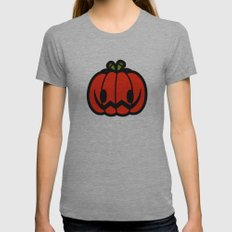 Halloween Series - Hallo… Womens Fitted Tee Athletic Grey SMALL
