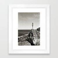 Bondi With A View Framed Art Print