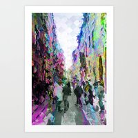 Coincidentally misappropriated yearly kindness. 01 Art Print