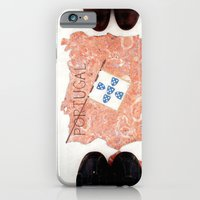 iPhone & iPod Case featuring Pes by Little Miss Joey