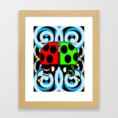 Daze Framed Art Print