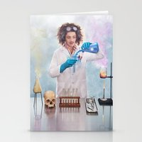 Mad Science Stationery Cards