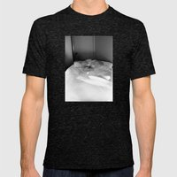 Double Vision II Mens Fitted Tee Tri-Black SMALL