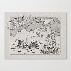 The Decemberists (Analog Zine) Canvas Print