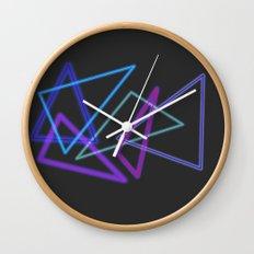 Glow Stick  Wall Clock