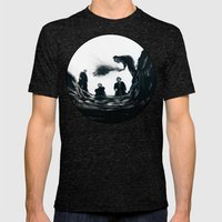 The Saddest Ditch Mens Fitted Tee Tri-Black SMALL